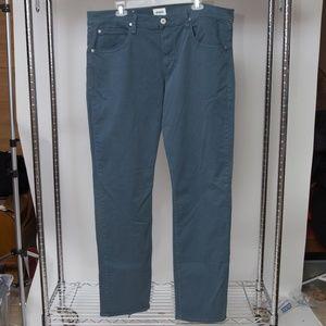 New Hudson Blake Slim Straight Jeans 38x33